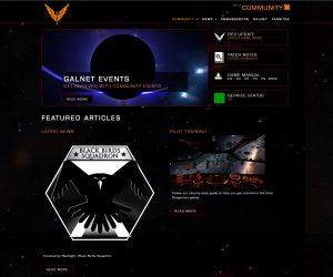 Elite Dangerous community spotlight black birds